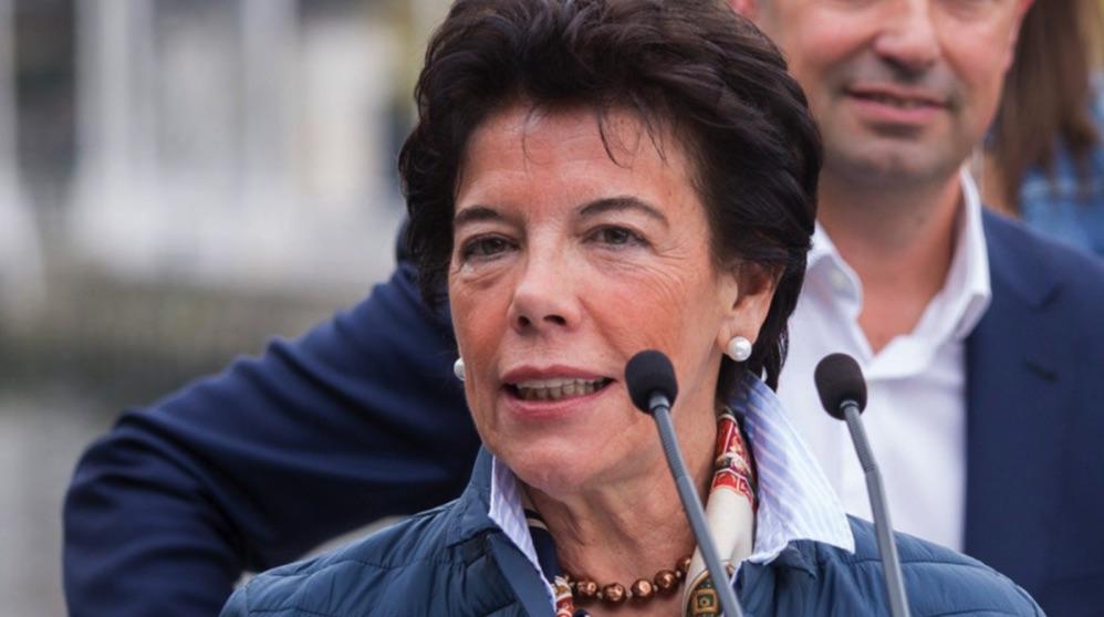 La portavoz del Gobierno Isabel Celáa. (Foto. PSOE vasco)