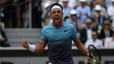 Marco Cecchinato es la revelación de Roland Garros. (AFP)