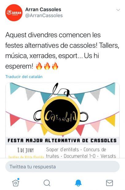 Colau convierte las fiestas de Barcelona en actos independentistas y antimonárquicos