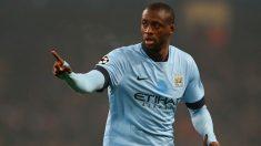 Yayá Touré durante un encuentro con el Manchester City. (Getty)