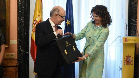 Tomas de posesión: María Jesús Montero