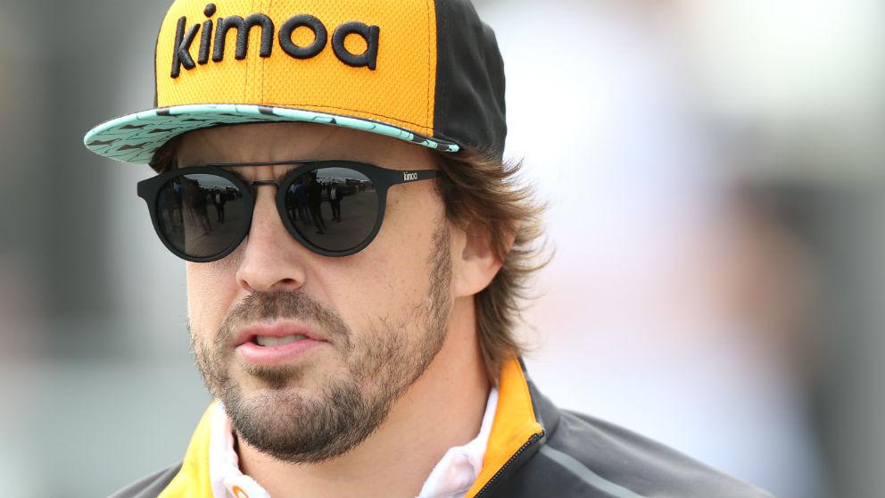 Fernando Alonso ha reconocido que tiene firmado un contrato multianual con McLaren, con lo que su continuidad en la Fórmula 1 en 2019 no está para nada descartada. (Getty)