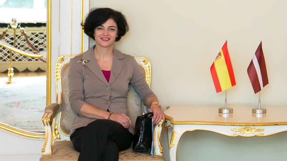 Consuelo Femenía, mujer de Pedro Duque y embajadora española en Malta.