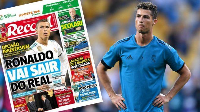Bomba en Portugal: afirman que Cristiano Ronaldo se va del Real Madrid