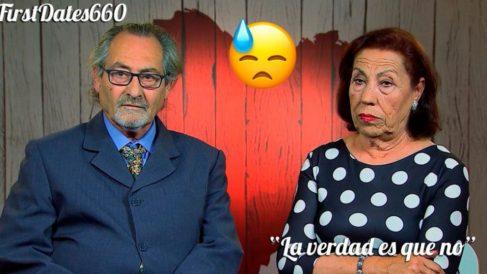 Luis y Carmen no han tenido una buena experiencia en 'First Dates'