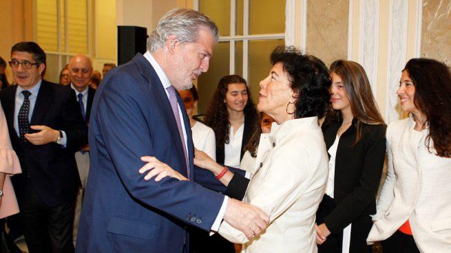 Iñigo Méndez de Vigo e Isabel Celaá