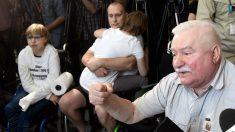 El ex presidente polaco Lech Walesa. (AFP)