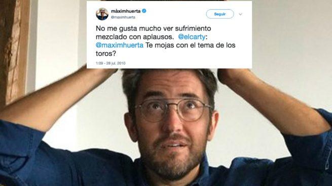 Màxim Huerta antitaurino