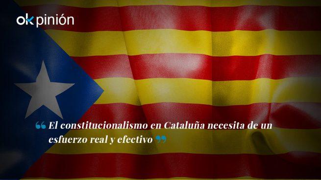 El horizonte del constitucionalismo es lejano en Cataluña