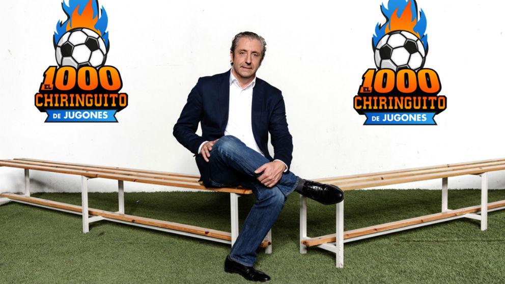 Josep Pedrerol, presentador y director de El Chiringuito de Jugones. (Foto: Atresmedia)