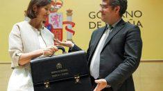Reyes Maroto y Alvaro Nadal