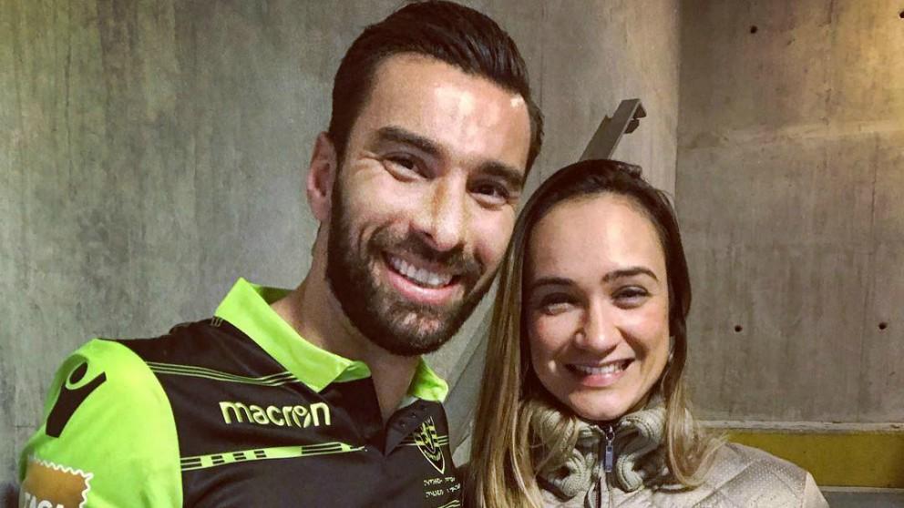 Rui Patricio y su mujer, Vera Ribeiro.