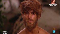 Sergio se muestra desolado por el final de 'Supervivientes'. (Foto: Telecinco)