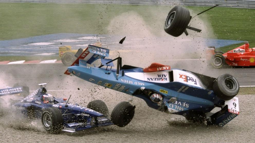 La salida del Gran Premio de Canadá es una de las más complicadas del año por su estrechez, lo que ha provocado numerosos accidentes a lo largo de los años. (Getty)