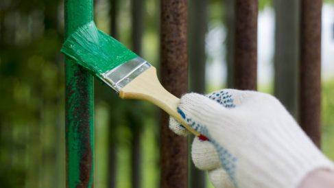 Pasos para pintar verjas de hierro de manera fácil