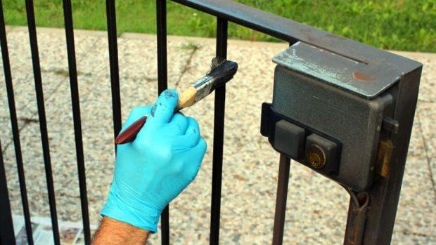 C mo pintar verjas de hierro pinturas lepanto - Pintura para hierro exterior ...