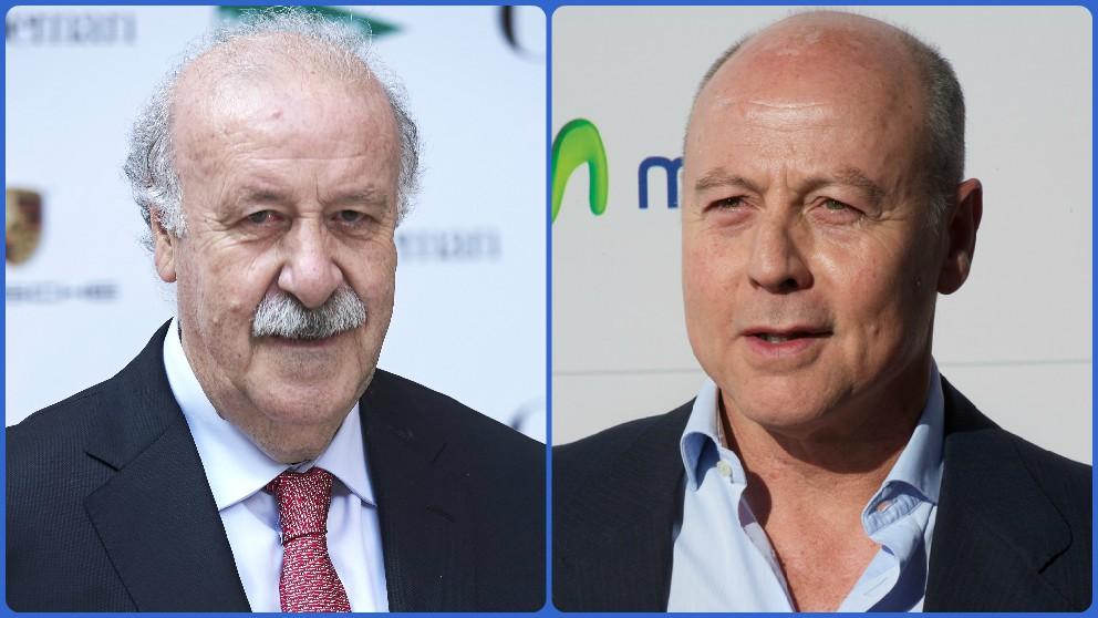 Vicente del Bosque y Juan Antonio Corbalán, candidatos a ser secretario de Estado para el Deporte.