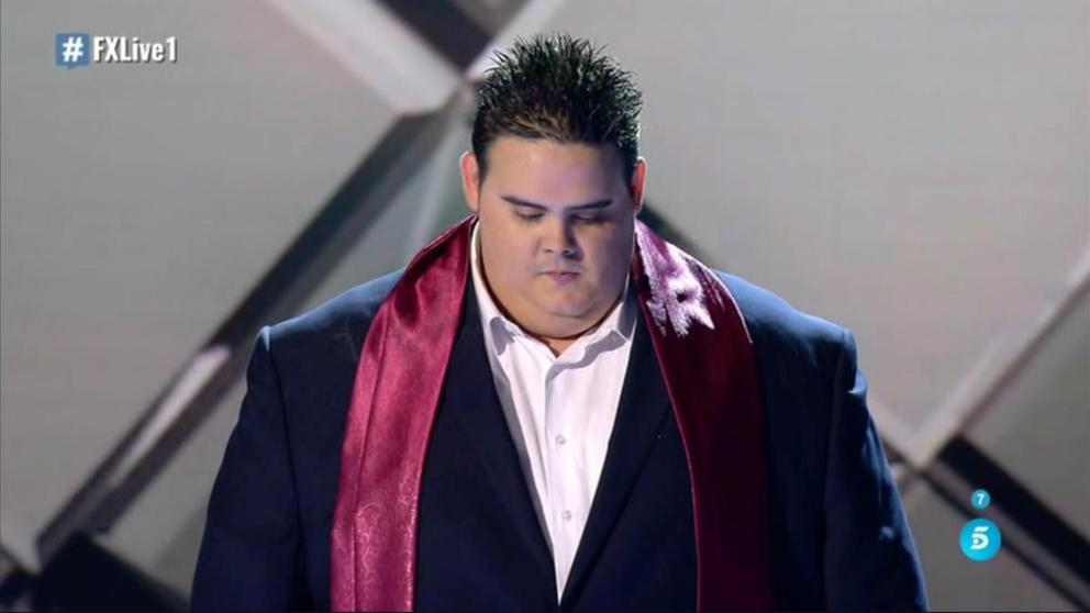 El público ha decidido que Niño Bermejo abandone 'Factor X'