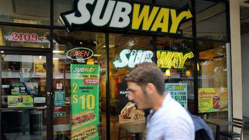 Establecimiento de Subway (Foto: Getty)
