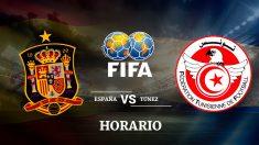 España – Túnez: horario y canal de televisión para ver el partido amistoso.