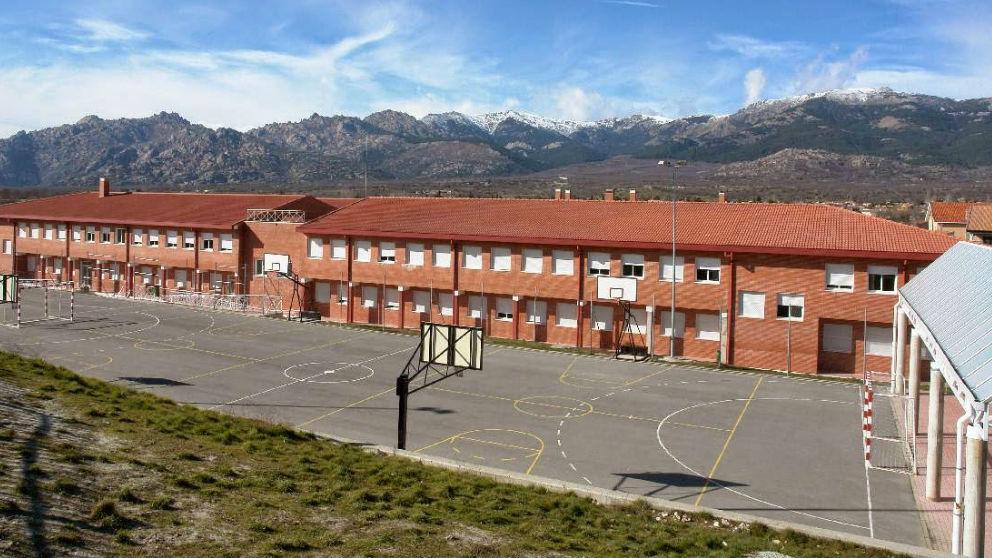 El centro IES Sierra de Guadarrama en Soto del Real, provincia de Madrid.