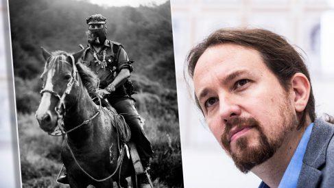 El subcomandante Marcos y Pablo Iglesias