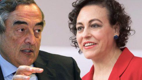 Juan Rosell y Magdalena Valerio