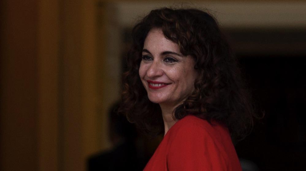 La ministra de Hacienda, María Jesús Montero. (Foto. La Moncloa).