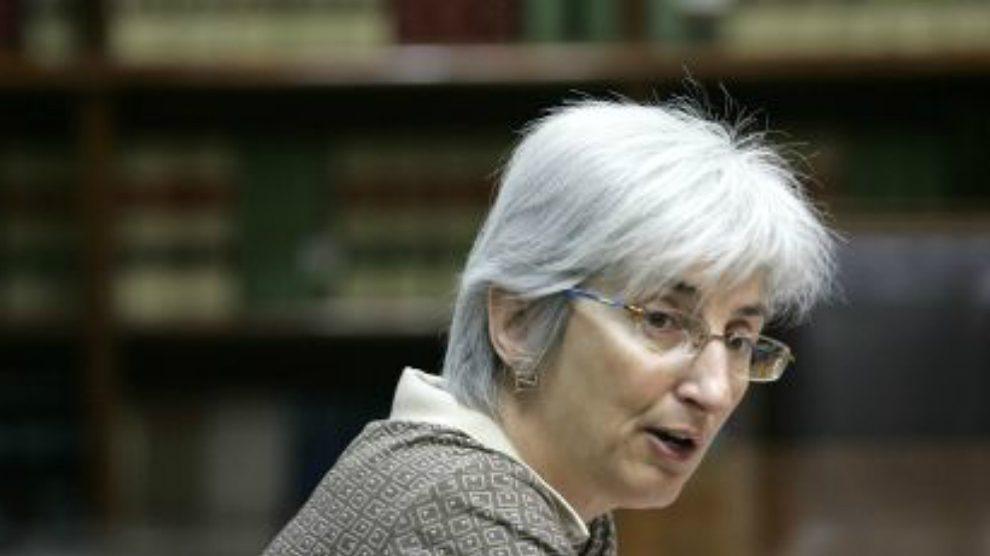 La fiscal general del Estado, María José Segarra.