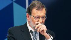 Mariano Rajoy anunciando su renuncia. (Foto. PP)