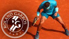 Rafa Nadal celebra la victoria ante Del Potro y el pase a la final de Roland Garros.