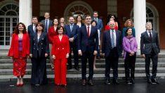 El Gobierno de Pedro Sánchez en La Moncloa