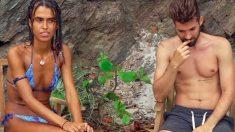 Sofía confesó que está enamorada de Alejandro Albalá en 'Supervivientes'. (Foto: Telecinco)