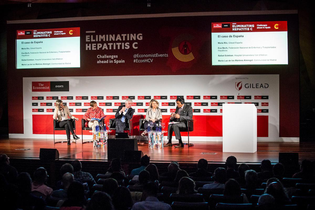 """Presentación del informe """"Enfoques políticos para abordar la hepatitis C en España"""""""