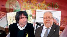 El diputado del PDeCAT Francesc Dalmases y el ex presidente de la Diputación de Barcelona Salvador Esteve.