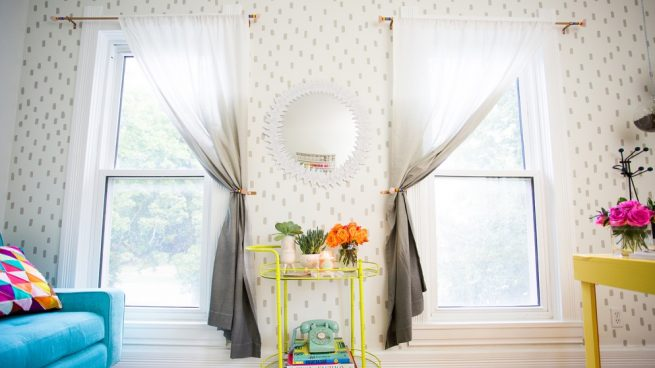 cortinas con efecto degradado