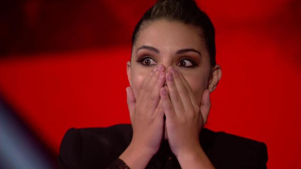 Elena Farga la favorita del público en 'Factor X'