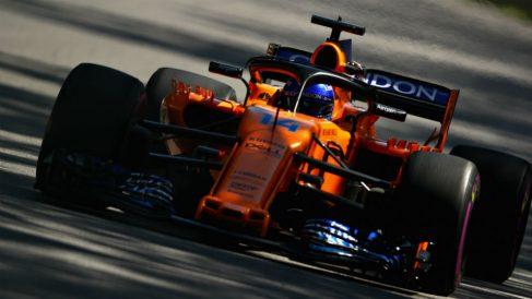 Fernando Alonso en el Gran Premio de Canadá de Fórmula 1. (Getty)