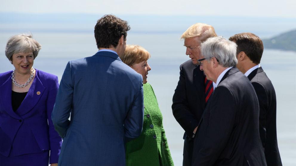 Reunión del G-7 (Foto: GETTY).