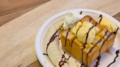 Receta de Pudin de plátano fácil de preparar