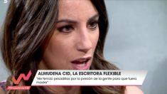Almudena cid ha confesado la presión que ha sentido por no querer ser madre en 'Viva la vida'. (Foto: Telecinco)