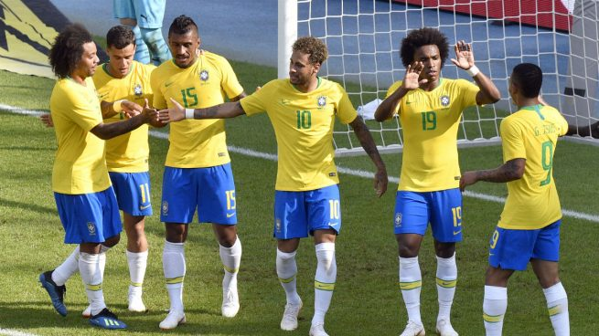 Sólo Brasil convence antes del Mundial 2018