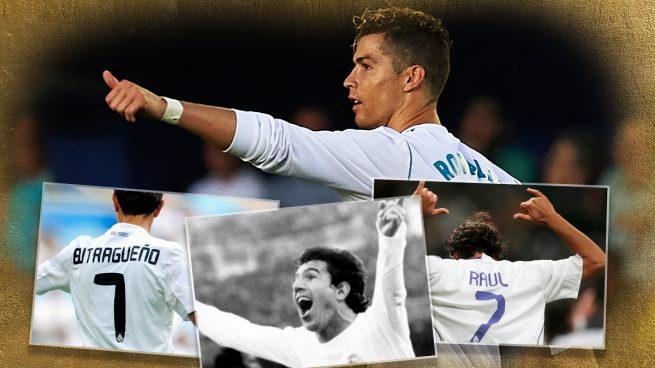 Cristiano Ronaldo y el legado del 7 del Real Madrid