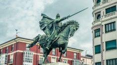 Estatua de el Cid en Burgos.