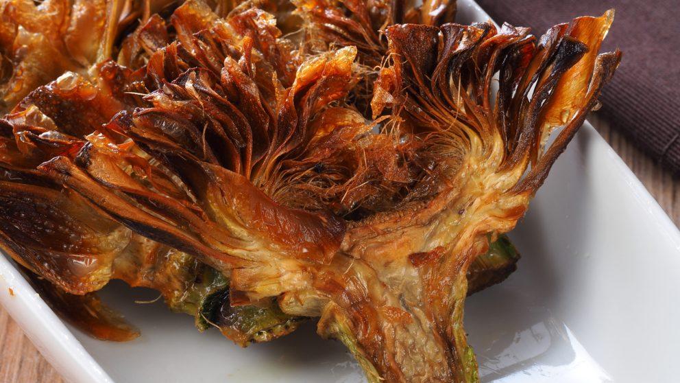 Receta de Chips de alcachofa crujientes fáciles de preparar