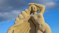 La diosa Afrodita.