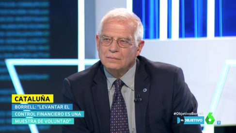 Josep Borrell en 'El Objetivo' de laSexta.