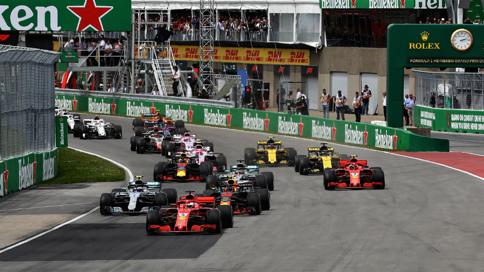 El Gran Premio de Canadá de Fórmula 1 nos ha dado la tercera victoria del año de Sebastian Vettel, que recupera el liderato del mundial en detrimento de un desconocido Lewis Hamilton. (Getty)