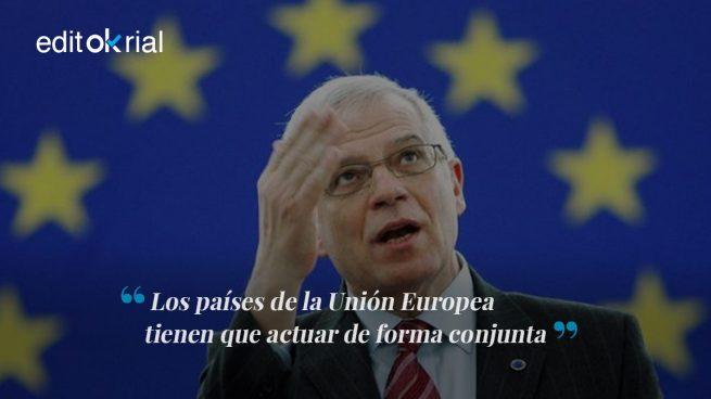 Borrell tiene razón: esta no puede ser la norma