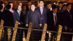 Kim Jong Un en Singapur (AFP).